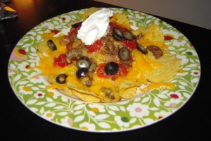Lazy night nacho supper