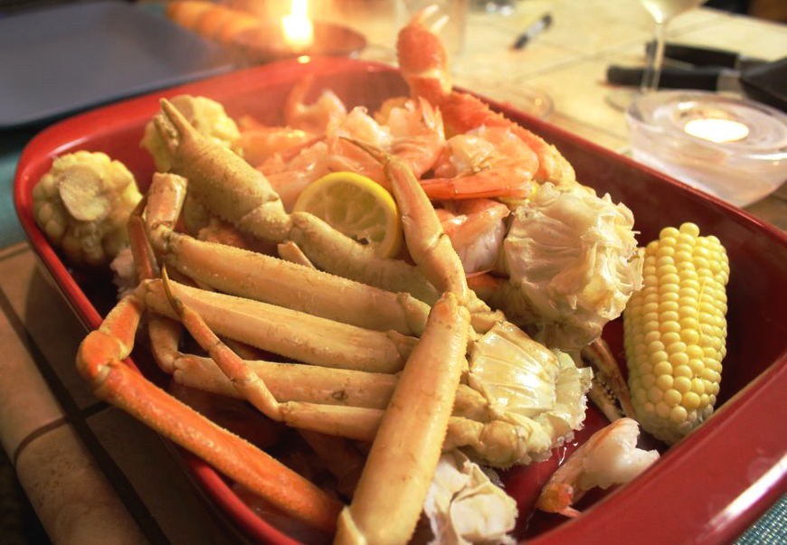 Crab Legs Save The Day Our Life In Meals