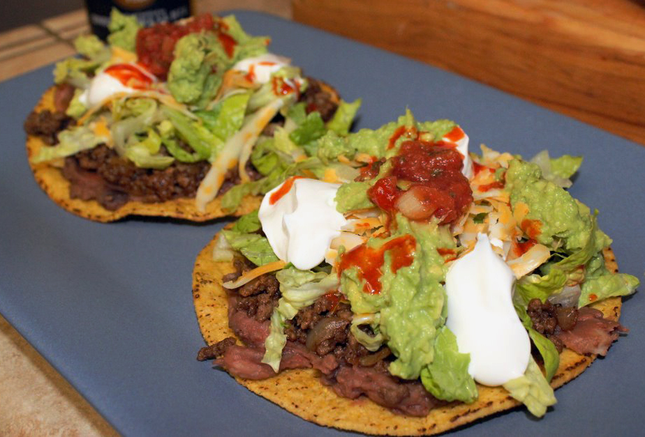 A Tostada Time Out | Our Life in Meals